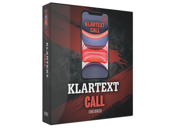 Klartext Call: persönliches 1:1 Live Coaching